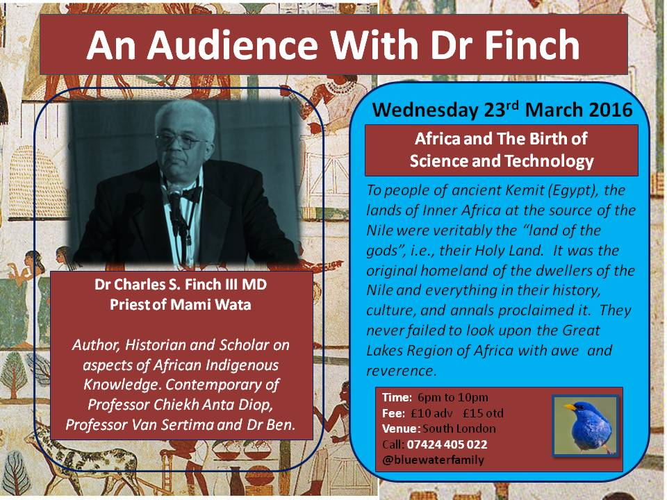 africans in science and technology Wed 23rd March
