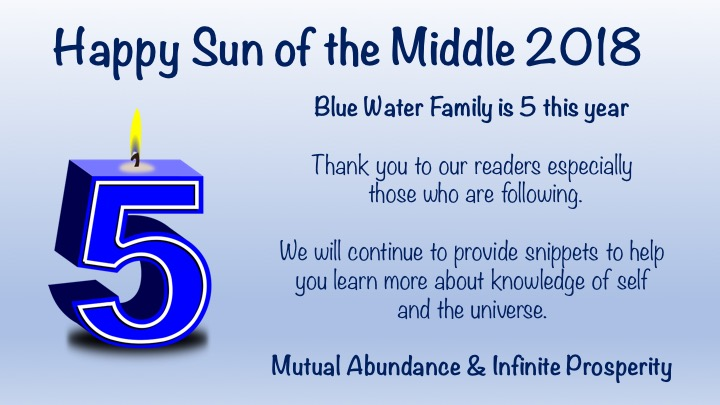 blue water family is 5 this year